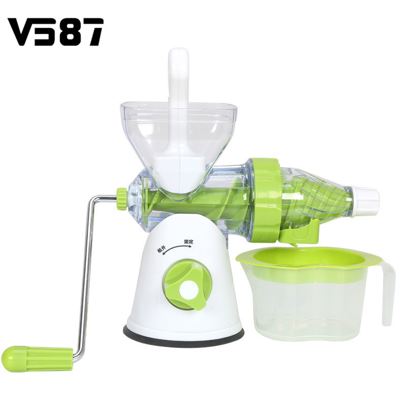 400ml Manual Fruits Vegetables Juicer Reamer Squeezer Food Processor Home Kitchen Juice Beverage Maker Machine Tools Kitchenware