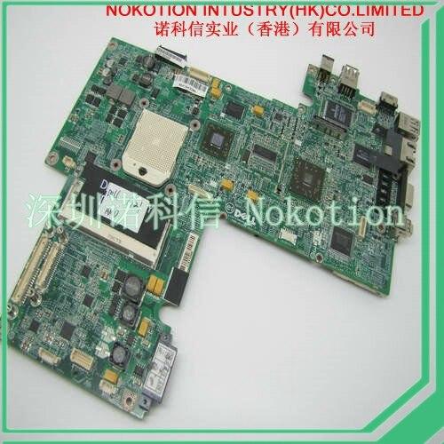 ФОТО CN-0UK436 UK436 DA0FX5MB8D0 laptop motherboard for Dell Inspiron 1721 main board 17'' wide screen AMD DDR2