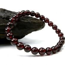 5mm Boutique Red Garnet Bracelet Natural Garnet Bracelet Crystal Jewelry  Fashion Jewelry Gift kuprin alexander the garnet bracelet