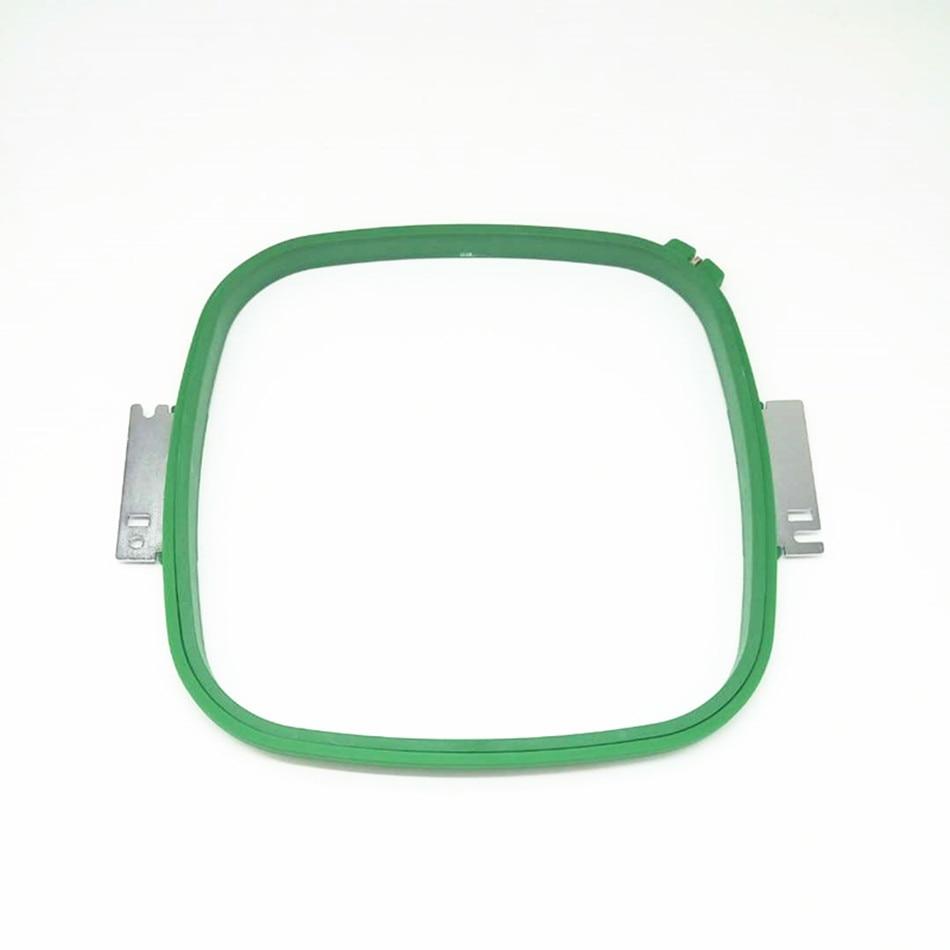 HAFT CZĘŚCI ZAMIENNE Tajima GREEN Hoops 300X300mm Kwadratowy kształt Całkowita długość 355mm TAJIMA rama rurowa TAJIMA tubular hoop