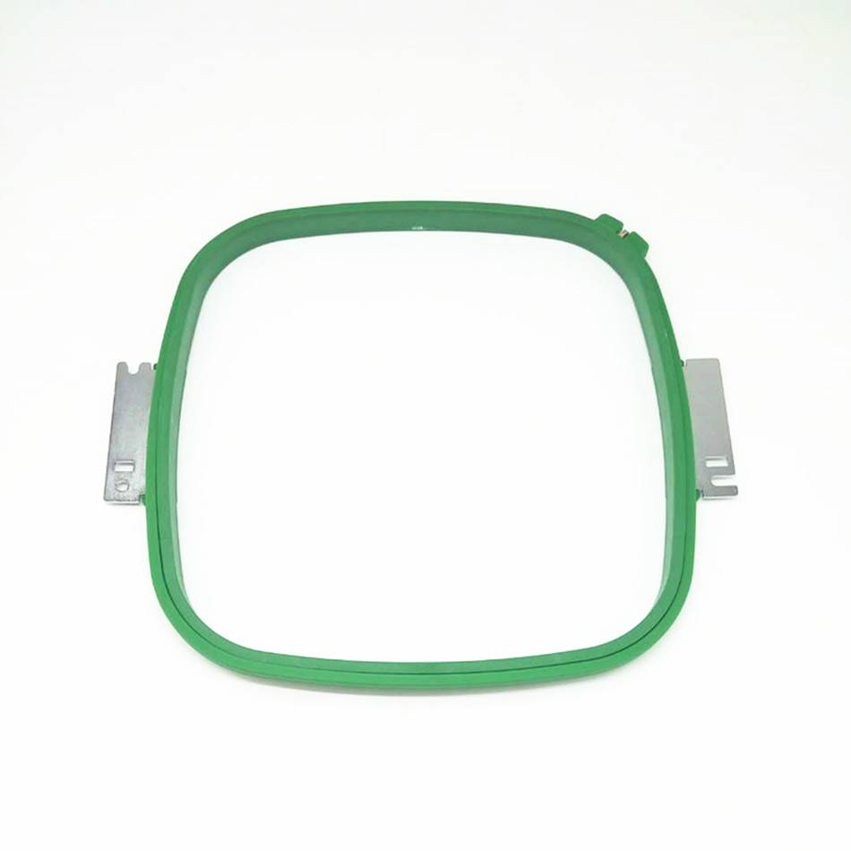 EMBROIDERY SPARE PARTS Tacima GREEN Hoops 300X300mm Kvadrat forma Ümumi uzunluğu 355mm TAJIMA boru çərçivəsi TAJIMA boru halqa