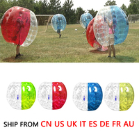0.8m Outdoor Activity PVC Inflatable Bumper Bubble Soccer Zorb Ball For Adult Buffer Ball Running Family Game Drop Shipping