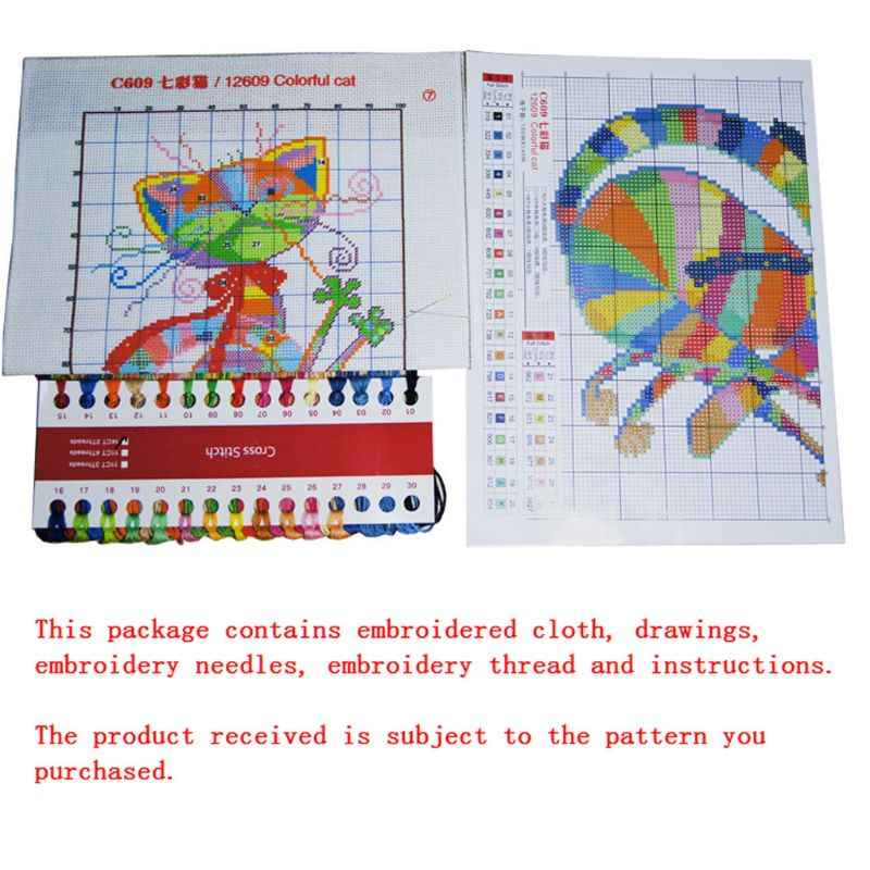 Ангел девочка ручной работы Рукоделие Счетный 14CT напечатаны крестиком комплект с вышивкой украшения дома