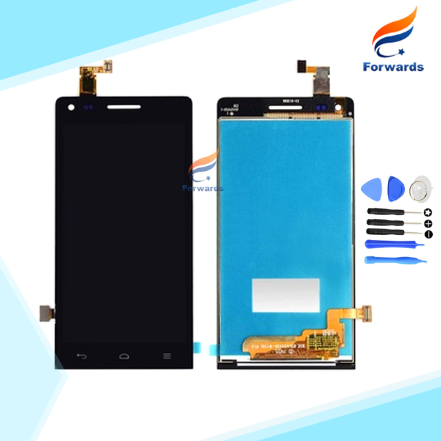 100% Новый Испытано Черный/Белый для Huawei Ascend G6 ЖК-Экран дисплей с Сенсорным Дигитайзер + Инструменты 1 шт. бесплатная доставка