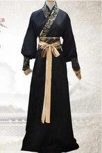 Adulti Cavaliere Costume di Ballo Abbigliamento Dinastia Cinese Tang Uomini Intrattenimento Musiche E Canzoni Costume Cinese Costume Tradizionale Spadaccino Costume 89