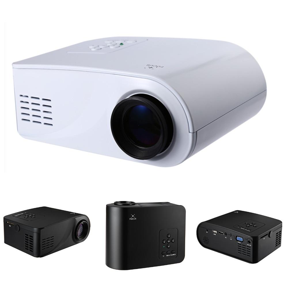 Hd Home Theater Multimedia Lcd Projector: Mini Portable Multimedia LCD Projector Full HD 1080P Video
