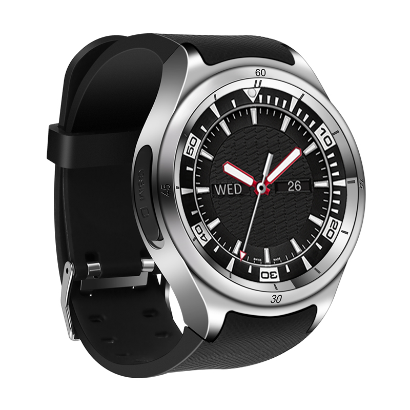 Smart watch ZK10 Android 5.1 MTK6580 Quad core 1GB+16GB smartwatch heart rate IP67 Waterproof 3G+WiFi+GPS For Samsung gear s3 S8