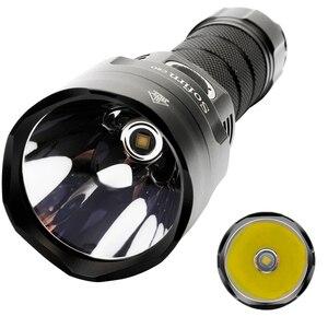 Image 2 - Sofirn C8G güçlü LED el feneri 21700 Cree XHP35 18650 güç göstergesi fener meşale 2 grup rampa SOS Beacon açık