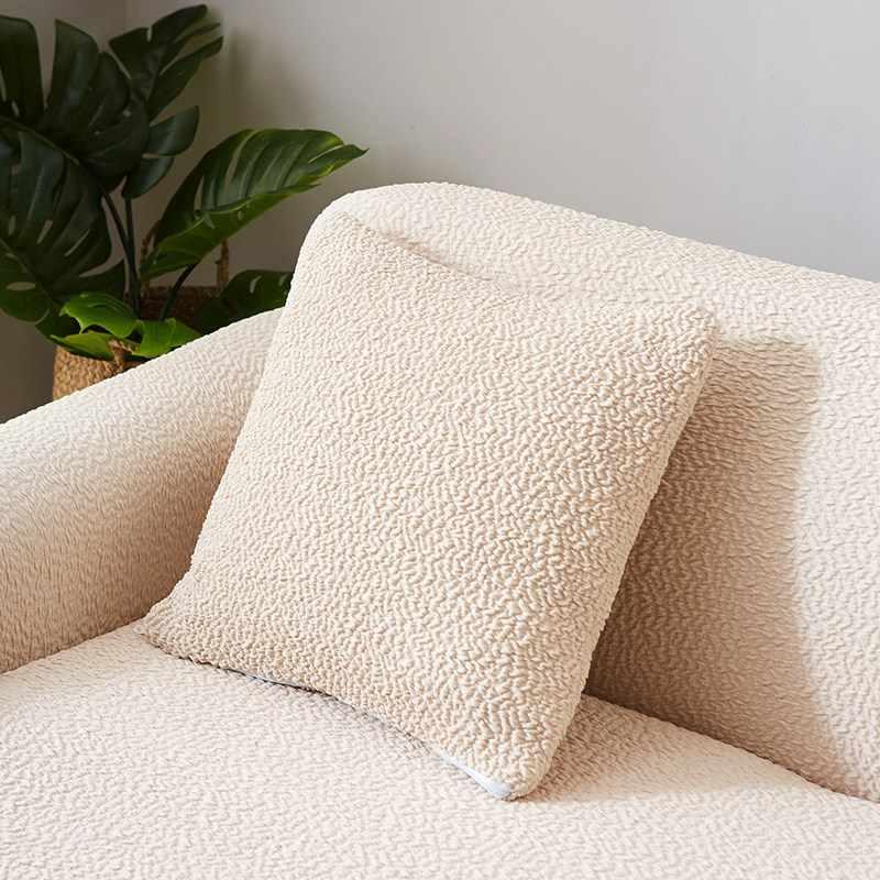 TUTUBIRD-японский стиль чехол для дивана твердый Простой эластичный плотный чехол для дивана трикотажная ткань Противоскользящий гибкий чехол для дивана