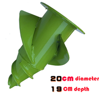 Powerful tobacco cultivation tobacco drilling bit head drilling ground tool planting accessories 20cm