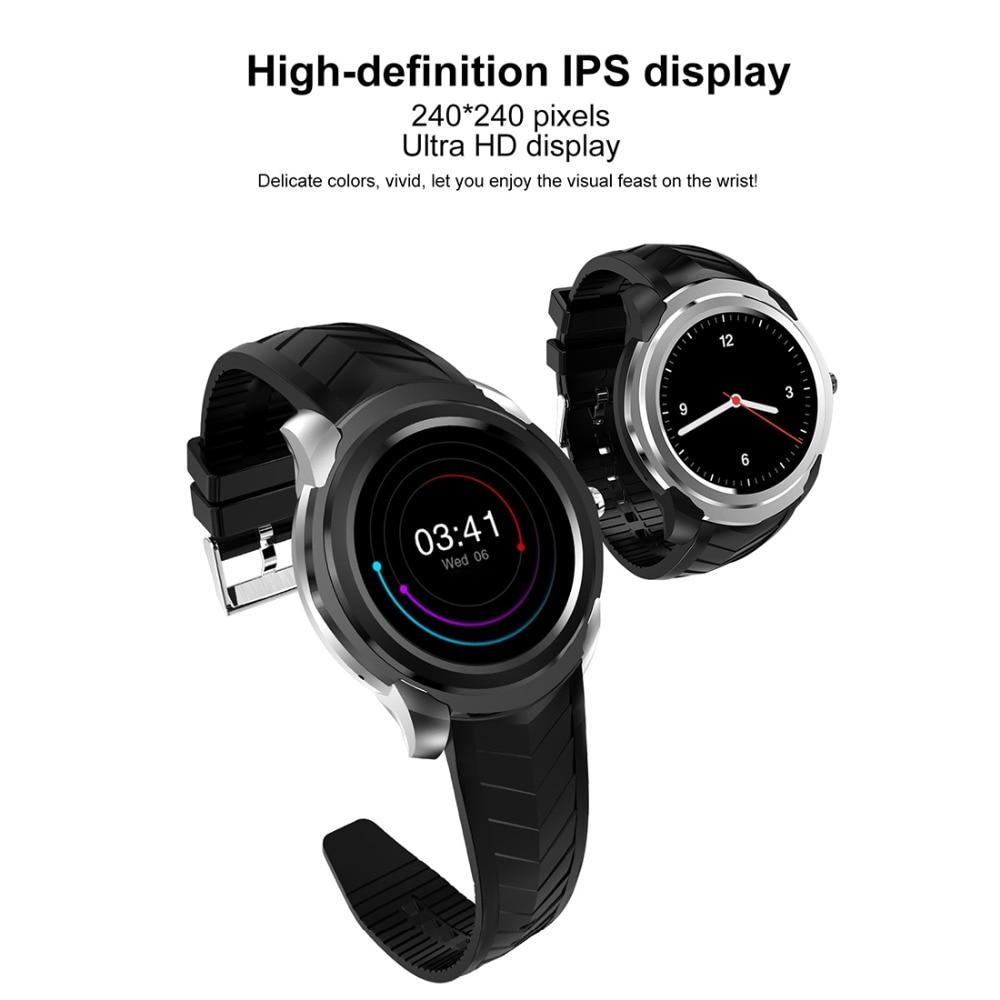 C1 Plus 3G inteligente reloj teléfono ROM 8 GB + 512 MB de RAM 1,3 pulgadas IPS HD pantalla MTK6580 Quad Core de 1,3 Ghz y cámara/G sensor de Bluetooth - 2