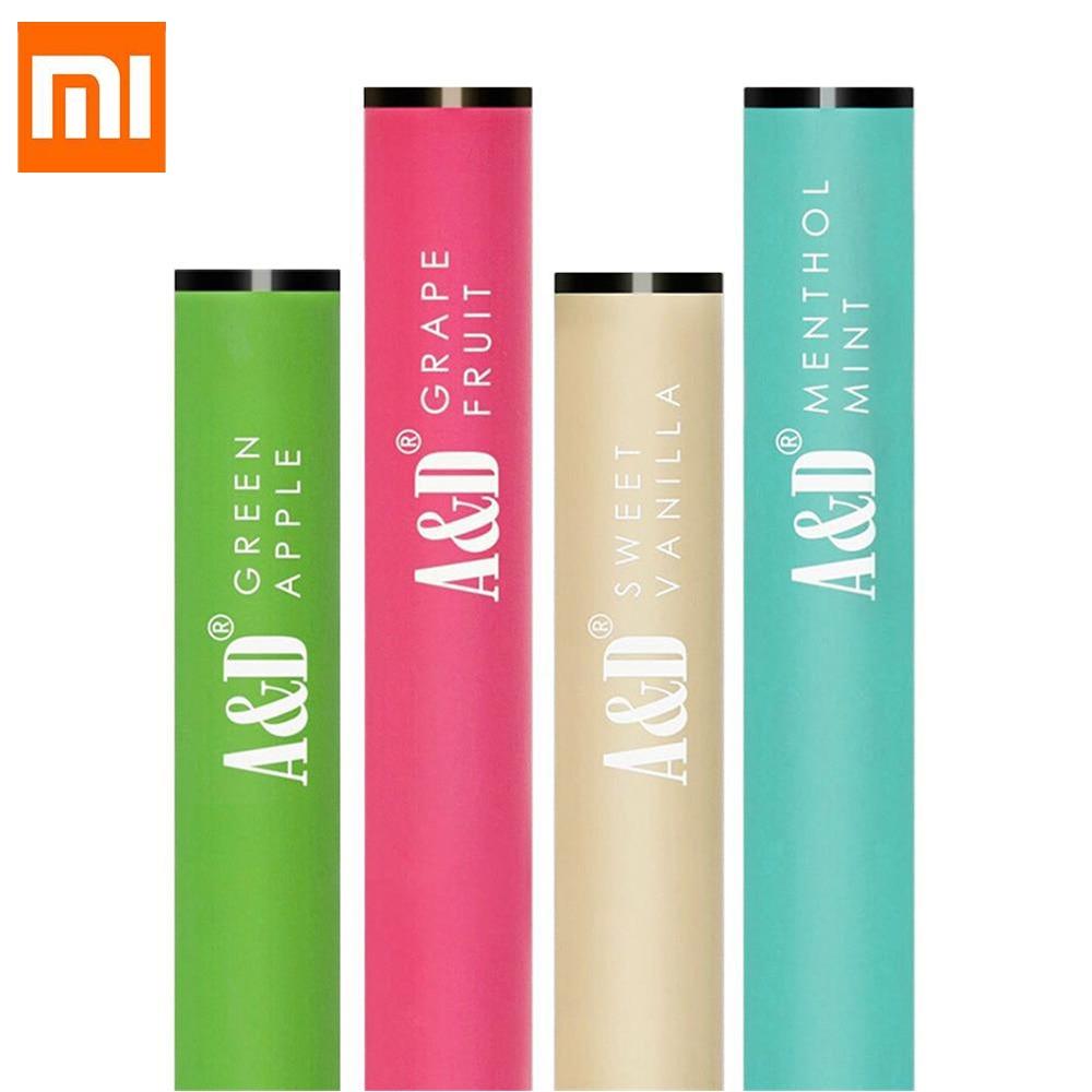 Original 4PCS Xiaomi Mija A&D E-Cigarette Healthy Sucker Fresh Breath Non-nicotine Fruit Flavor Collagen Vitamin For Smart Home