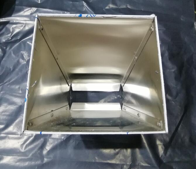 Stainless Barley Malt Hopper Grain Grinder Hopper Crusher Homebrew Tools Hopper Only (No Mill, No Grinder)