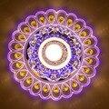 Luz de Teto de cristal 3 W/5 W Teto Do Quarto Lâmpada Dia20cm Lâmpada Conduziu a Iluminação da Decoração de Casa Modern Abajur de Acrílico WCL037