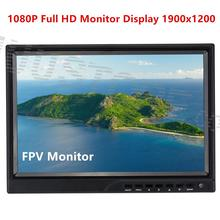 SKY-1000A Full HD 10 inch Monitor 1900×1200 High Resolution IPS LED 1080P Display Compatible with DJI FPV Tx Rx System HDMI Port
