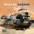 RMF 1/35 RM-5007 M1A1/A2 ABRAMS Main battle tank w/FULL INTERIOR model kit