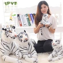 лучшая цена instagram Soft Stuffed Animals Tiger Plush Toys Pillow Animal Lion Plush Kawaii Doll Cotton Girl Brinquedo Toys For Children