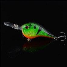 Rushed 2015 hot sale 1pcs hard plastic crankbait carp fishing tackle 3d eyes bait wobbler japan