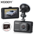 XGODY D2 3 inch Car DVR Full HD 1080P Car Camera Recorder 170 Degree 6G Lens Night Vision Dash Cam with FREE 8GB TF Card