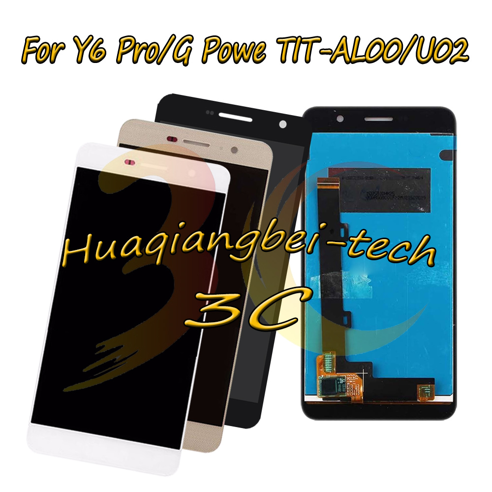 New 5.0'' For <font><b>Huawei</b></font> <font><b>Y6</b></font> <font><b>Pro</b></font> Y6Pro / G Powe <font><b>TIT</b></font>-<font><b>AL00</b></font> <font><b>TIT</b></font>-U02 Full <font><b>LCD</b></font> DIsplay + Touch Screen Digitizer Assembly 100% Tested image