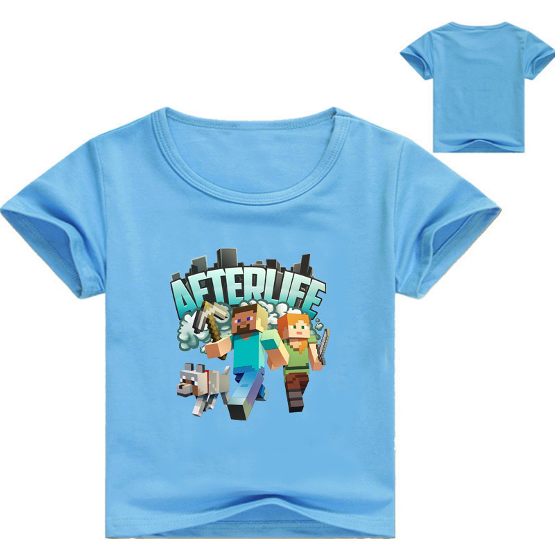 Z&Y 3-16Years Legoes Clothing Kids Sandbox Shirt Baby Boy Sweatshirts Girl T Shirt Child ...