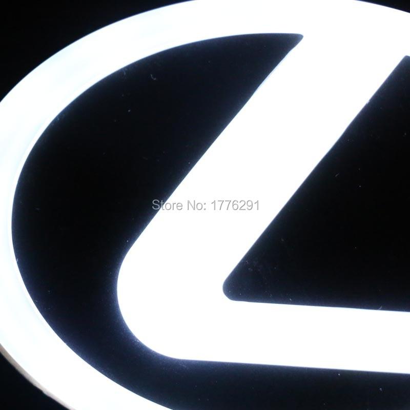 12.5x9.2cm 10.5x7.8cm 4D led car light for Lexus ES GS LC RX LX IS GS RC NX GX CT HS 450h 350 570 200t 300h 200h 460