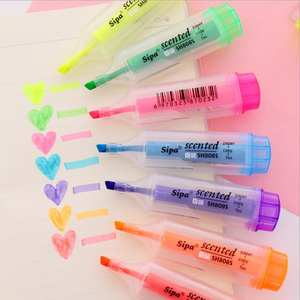 Graffiti-Pens Art-Marker High-Capacity Korean 7-Color 1pcs with Fragrance Fresh Expression