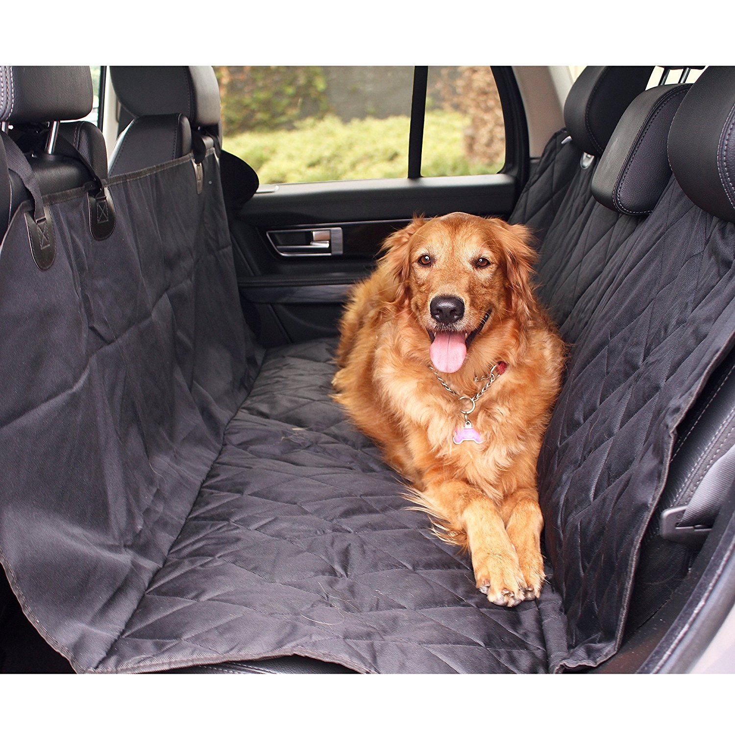 Pet Dog Bench Car Seat Cover for Auto SUV Truck Waterproof Storage Fits: Seat
