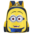 16 inch Fashion Despicable Me 2 Kids Cartoon School Bags Child Backpack Minions Schoolbag 6-12Y Kids Cute Bags mochila escolar