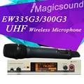 Высокое Качество! профессиональные G3 EW335 EW 335G3 Верно Разнообразие Беспроводной Ручной Микрофон УВЧ Беспроводной Микрофон Система