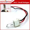 20X12 V 35 W 55 W H4-2 Pequena Lâmpada Halógena xenon H4 halogênio H4L halogênio substituição para H4H/L hid xenon kit car styling acessórios
