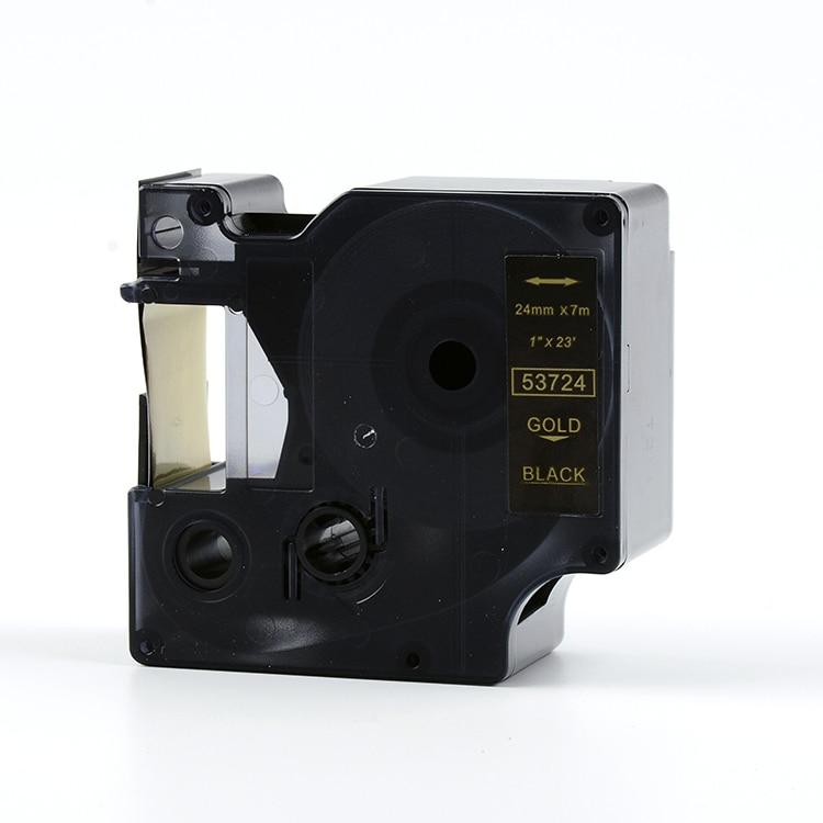 Pulsuz göndərmə 3PK / lot 24mm * 7m dymo etiket istehsalçısı - Ofis elektronikası - Fotoqrafiya 2