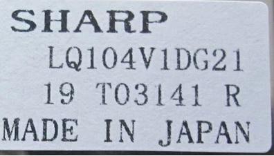 Original 10.4 inch industrial LCD screen LQ104V1DG21 free shipping