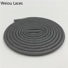 "Wellace Pepejal Warna 3M mencerminkan shoelaces Pusingan keselamatan rata kasut renda tips plastik nmd latchet ropelaces 49 ""/ 125cm untuk 350 750"