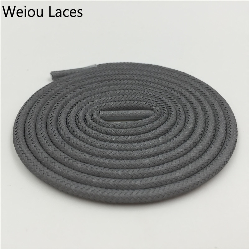Wellace Solid Colour 3M reflexní tkaničky Kulatá plochá - Příslušenství pro boty