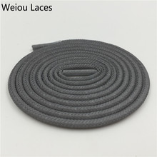 Wellace Solid Color 3M reflective shoelaces Round flat safety shoe lace plastic tips nmd latchet ropelaces 49/125cm for 350 750