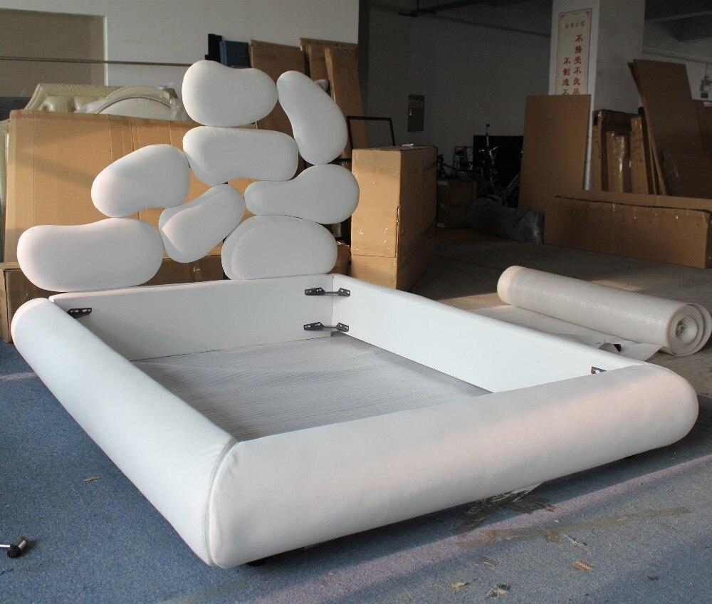 tienda online cuero material de la tela muebles cama diseo creativo aliexpress mvil