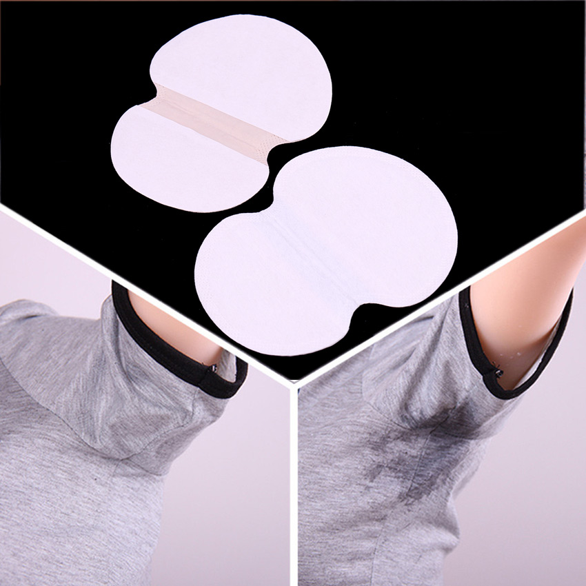 5 Pair Disposable Absorbing Underarm Sweat Guard Pads Deodorant Armpit Sheet Dress Clothing Shield Sweat Perspiration Pads