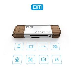 Image 4 - DM CR012 lettore di Schede USB 3.0 SD/Micro di DEVIAZIONE STANDARD TF OTG Smart Memory Card Adattatore per il Computer Portatile USB 3.0 tipo C Lettore di Schede lettore di Schede SD