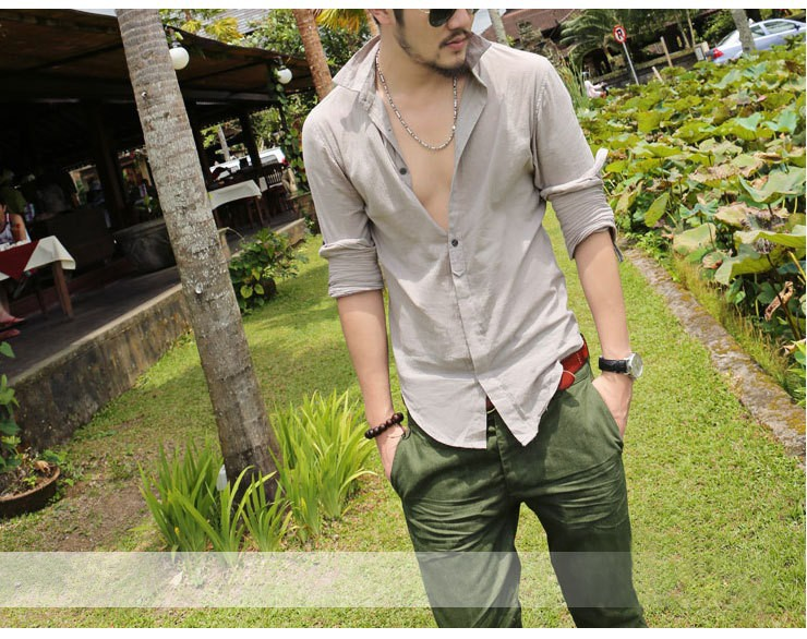 HTB1X7MdIFXXXXbGaXXXq6xXFXXX8 - Shirts Swag Cotton Linen Men Shirt Long Sleeve Summer Style