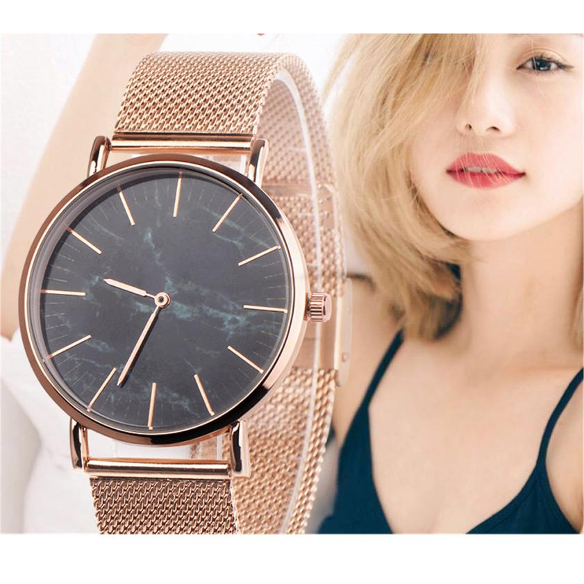 Luxury Brand Bracelet Watches Women Ladies Stainless Steel Mesh Band Quartz Analog Wrist Watch relogio feminino zegarek damski women watches ladies gold silver stainless steel mesh band wrist watch luxury relogio feminino watches men luxury brand unisex
