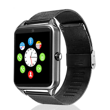 Z60 Smart Watch Men 1.54inch Pedomerter Sedentary Remind GSM Camera Bluetooth Smartwatch for iOS Android