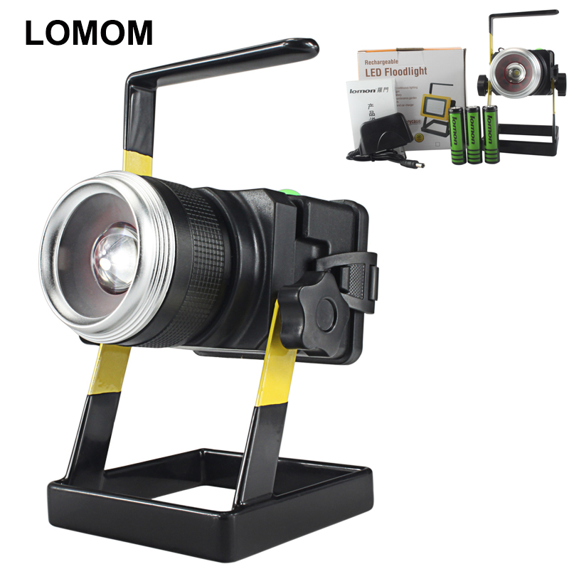 ФОТО  Portable Powered Work Light Rechargeable Outdoor Led Flood Light