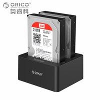 2 Bay External Hard Drive Docking Station USB3 0 To SATA 2 5 3 5 In
