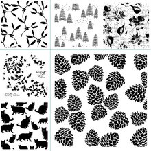 New Diverse Pattern Transparent Silicone Stamp DIY Scrapbook / Album Decoration Card Making Seal Supplies