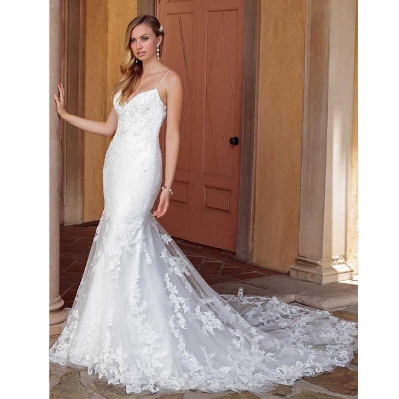 Satin Bateau Neckline See through Wedding Dress Bodice With Lace Appliques Cheap Price Bridal Dress Hot 2019 Wedding Gowns