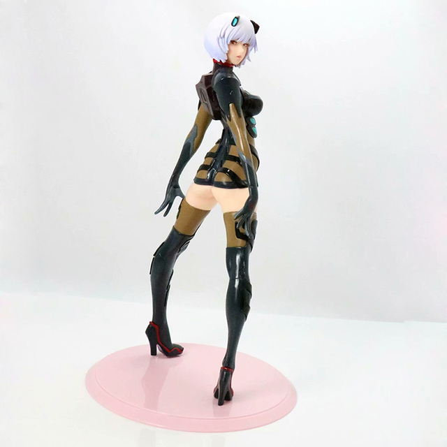 Black / White Version Evangelion Ayanami Action Figure EVA Ayanami Rei PVC figure Kids Toy Gifts no retail box (Chinese Version) 5