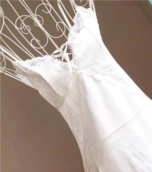 2016 Sexy Silk Nightgown Short Nighties For Women Sleepwear Summer Dress Indoor Clothing Female Nightdress Black/White E0228