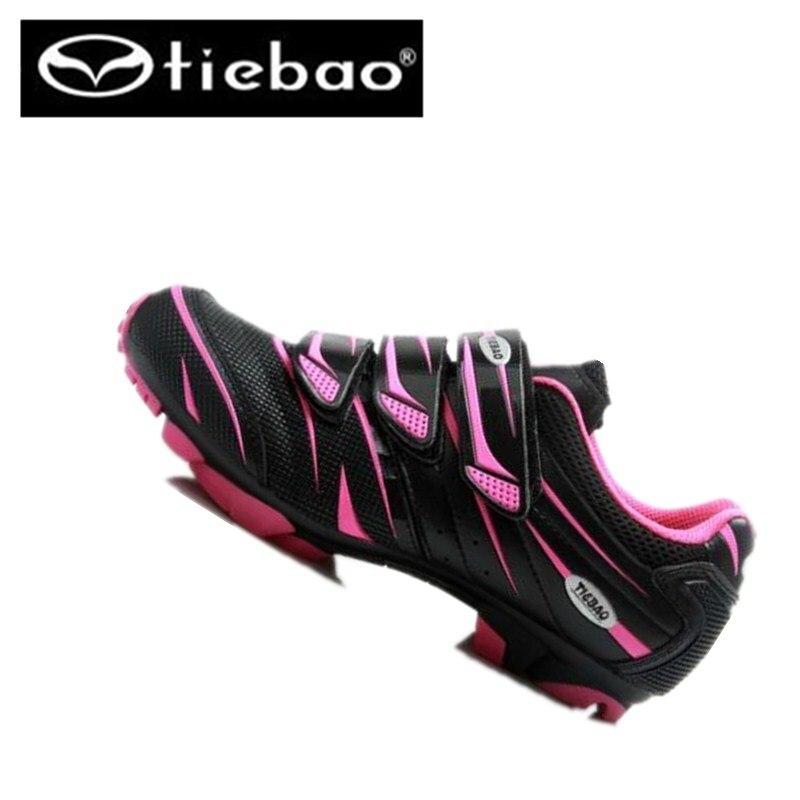tiebao winter mtb cycling shoes road pink zapatillas