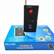 Wi-Fi радио CC308+ RF GSM устройство Анти-шпион лазерный Пинхол объектив скрытая камера искатель
